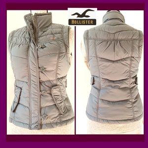 Holister Stuffed Gray Vest